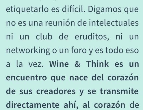 wine and think de otoño